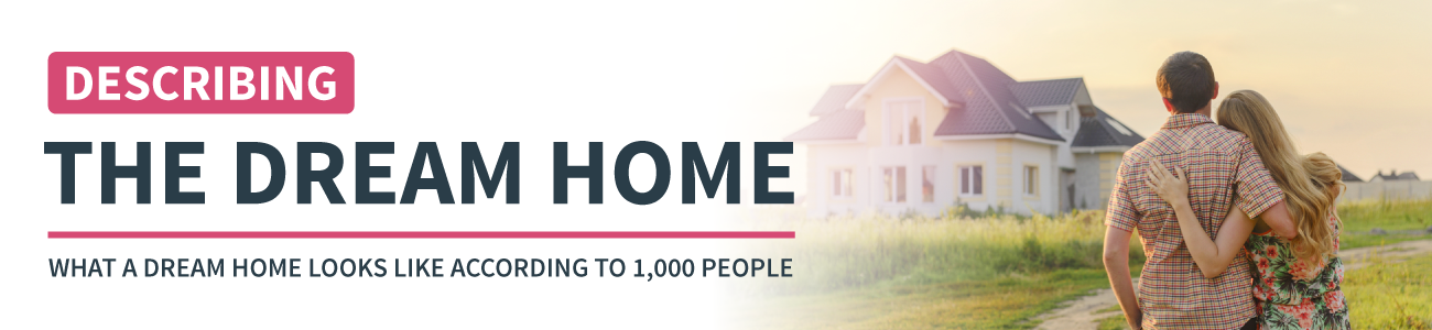The Dream Home. What A Dream Home Looks Like According To 1000 People.
